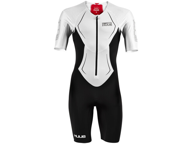 HUUB DS Long Course Trisuit Herren white/red